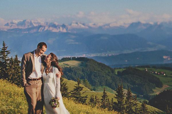 Daniela + Frank Preview I Wald, Switzerland Wedding Photographers