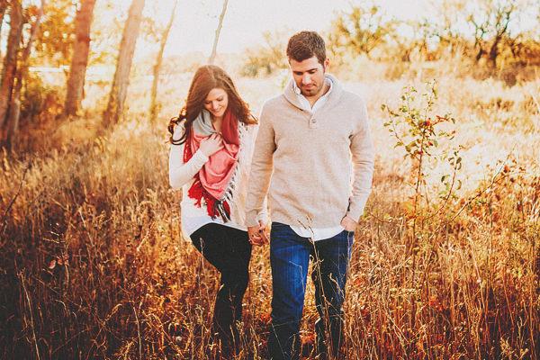 Monica + Jeff. Engaged. Abilene