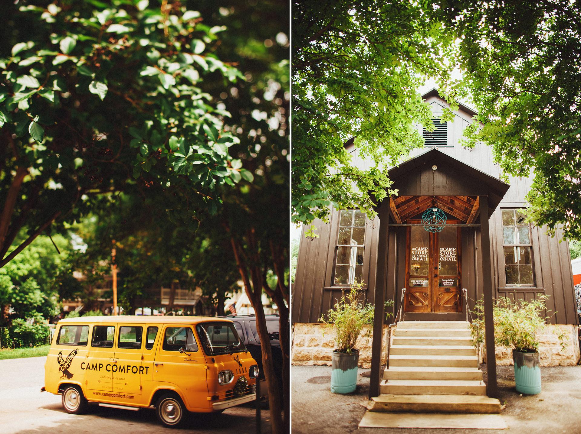 Camp Comfort Outdoor Wedding Austin Wedding Photographers